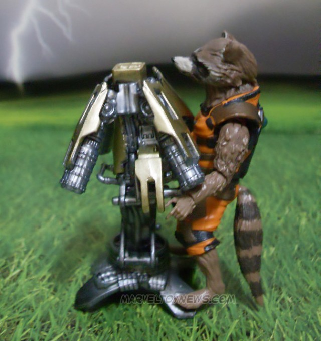 Guardians of the Galaxy Marvel Legends Rocket Raccoon Action Figure