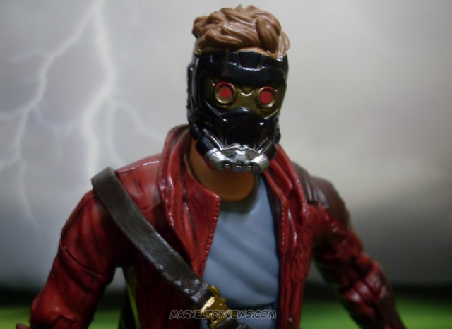 Guardians of the Galaxy Marvel Legends Star Lord Figure Hasbro Close Up