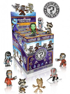 Guardians of the Galaxy Mystery Minis Case Funko Summer 2014