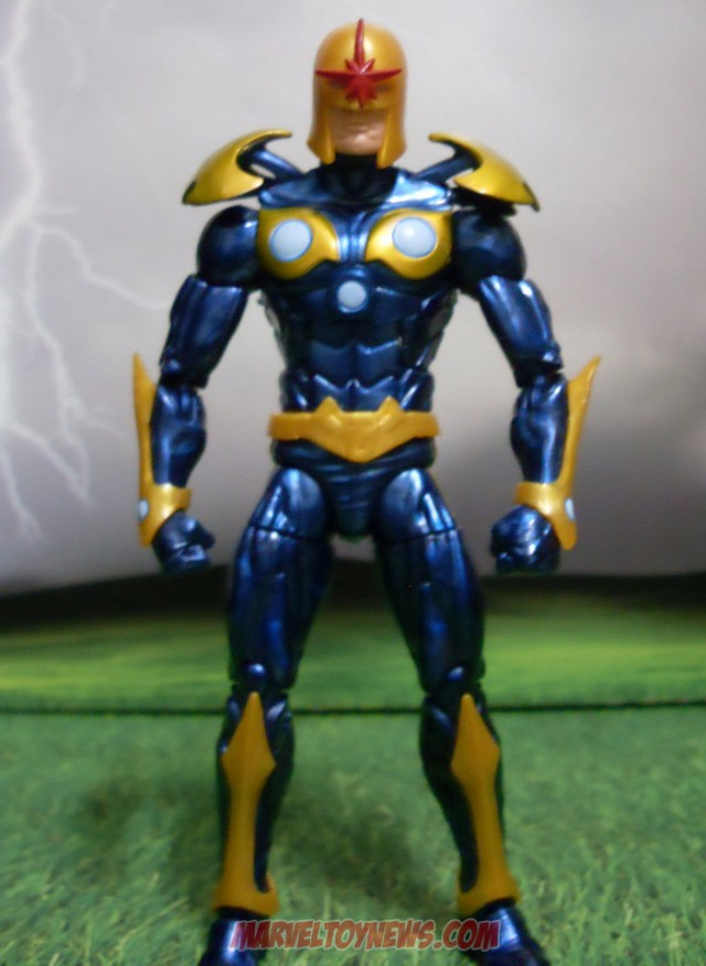 Guardians of the Galaxy Nova Marvel Legends Action Figure