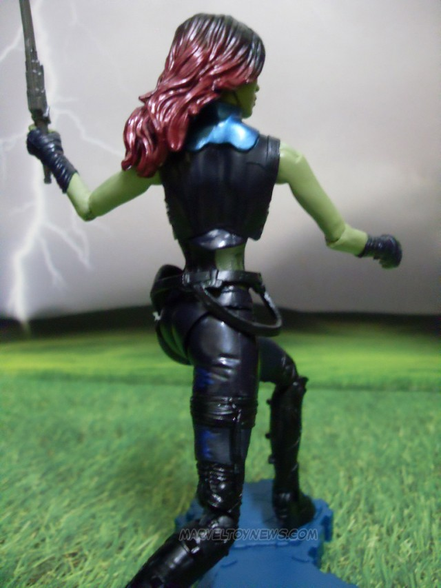 Hasbro Gamora Action Figure Six Inch Side View