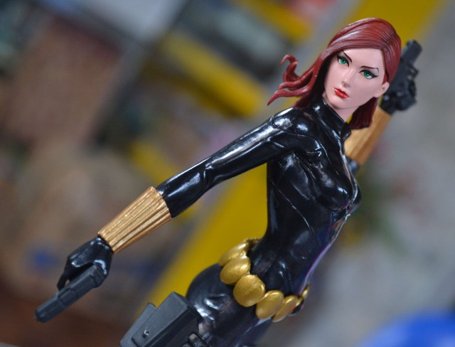 Kotobukiya Avengers ARTFX+ Statue Black Widow Close-Up