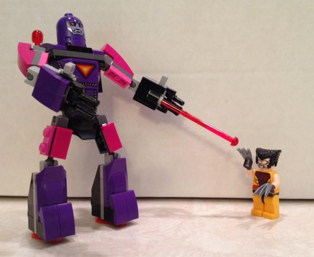 LEGO Sentinel vs. Wolverine Minifigures LEGO 76022