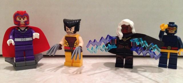 LEGO X-Men Minifigures from LEGO X-Men vs. The Sentinel 76022