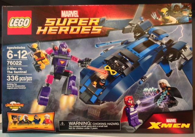 LEGO X-Men vs  The Sentinel Review LEGO 76022 Summer 2014 SetLego Marvel X Men Sets