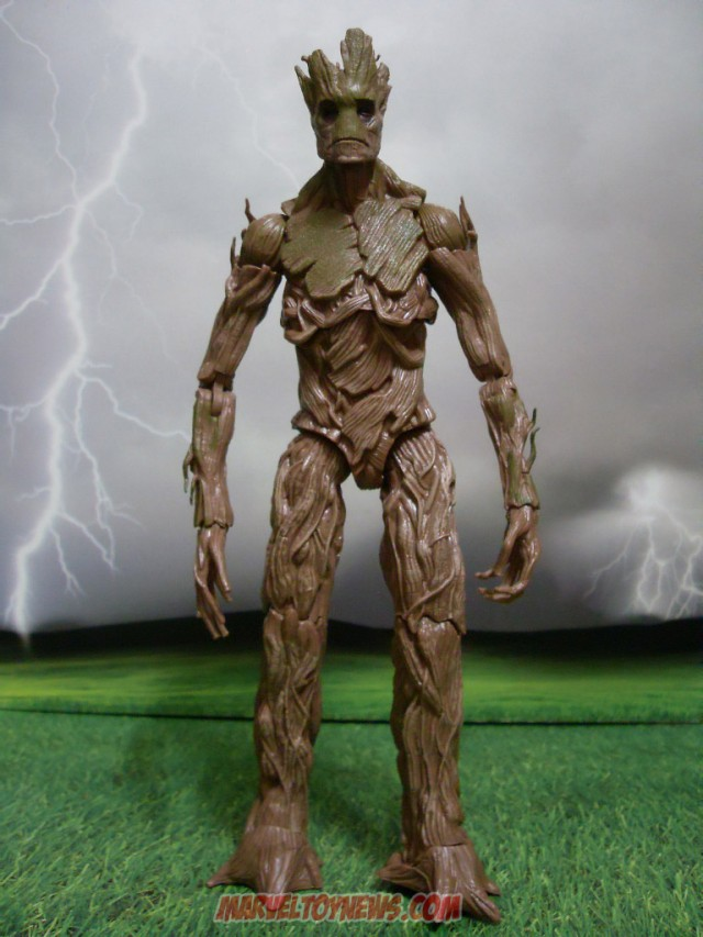 Marvel Legends 2014 Build-A-Figure Groot Guardians of the Galaxy Review