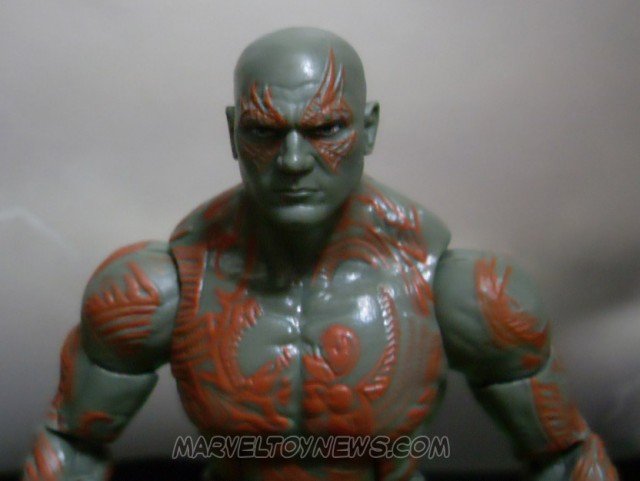 Marvel Legends GOTG Drax Figure Close-Up