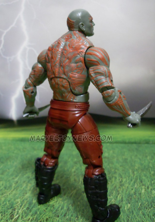 Marvel Legends Guardians of the Galaxy Drax Figure Back