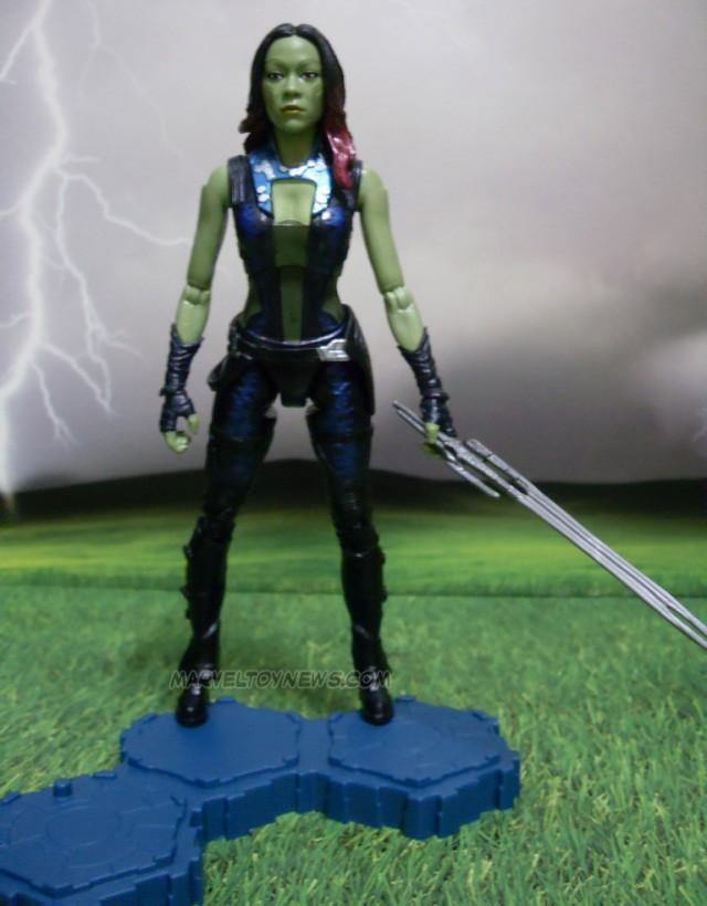 Marvel Legends Guardians of the Galaxy Gamora Figure Hasbro 2014