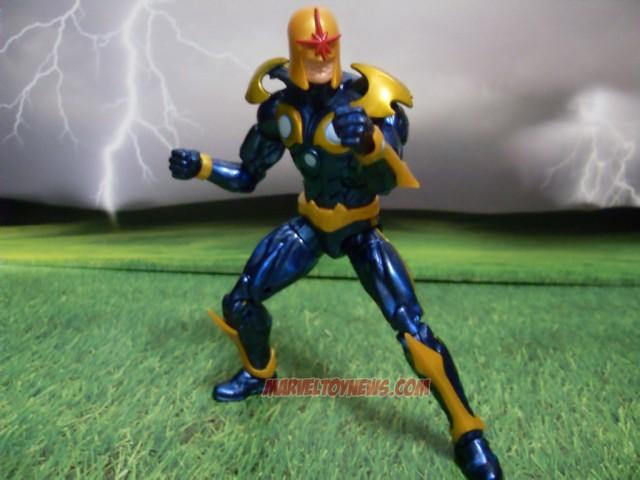 Marvel Legends Nova Guardians of the Galaxy Figure Review