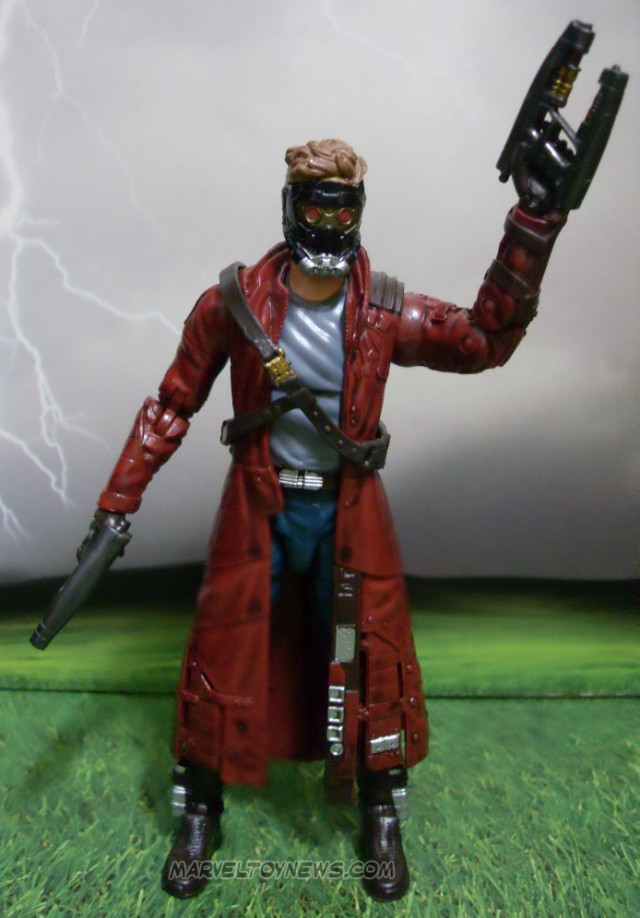 Marvel Legends Starlord Guardians of the Galaxy Figure Review