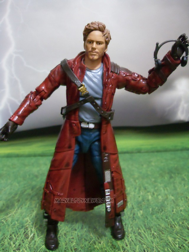 Peter Quill Unmasked Star Lord Marvel Legends Guardians of the Galaxy Figure