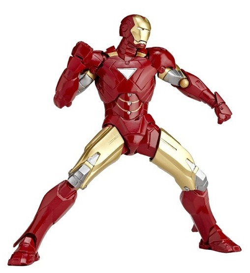 Revoltech mini iron man mark vi rm 003 photos order info - Mini iron man ...