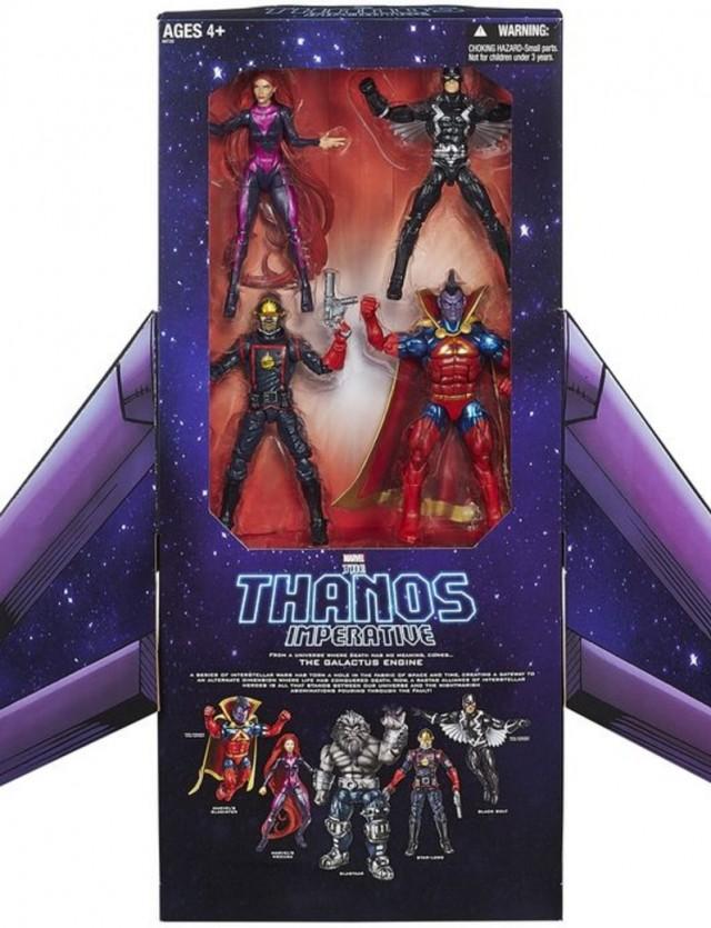 SDCC 2014 Marvel Legends Thanos Imperative Box Set