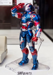 SH Figuarts Iron Patriot Figure Bandai 2014