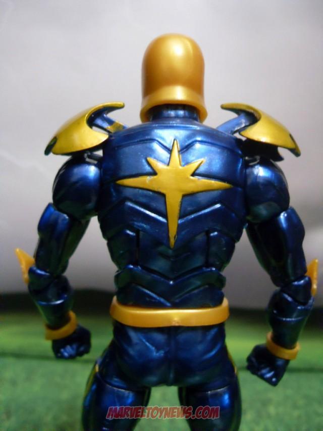 Shiny Blue Paint on Hasbro Annihilation Nova Marvel Legends Figure