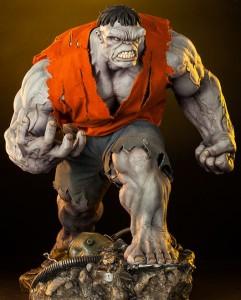 Sideshow Exclusive Grey Hulk Premium Format Figure with Orange Shirt