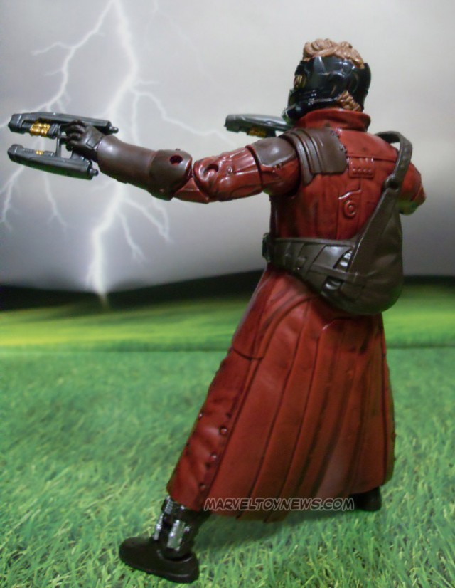 Star Lord Marvel Legends Guardians of the Galaxy Figure Back