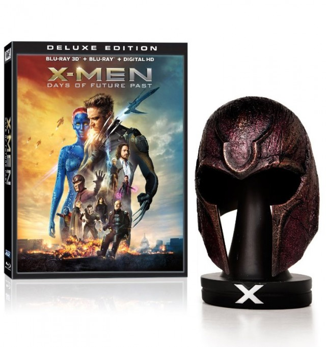 Men Days of Future Past Amazon Exclusive Blu-Ray Set with Magneto    X Men Days Of Future Past Set