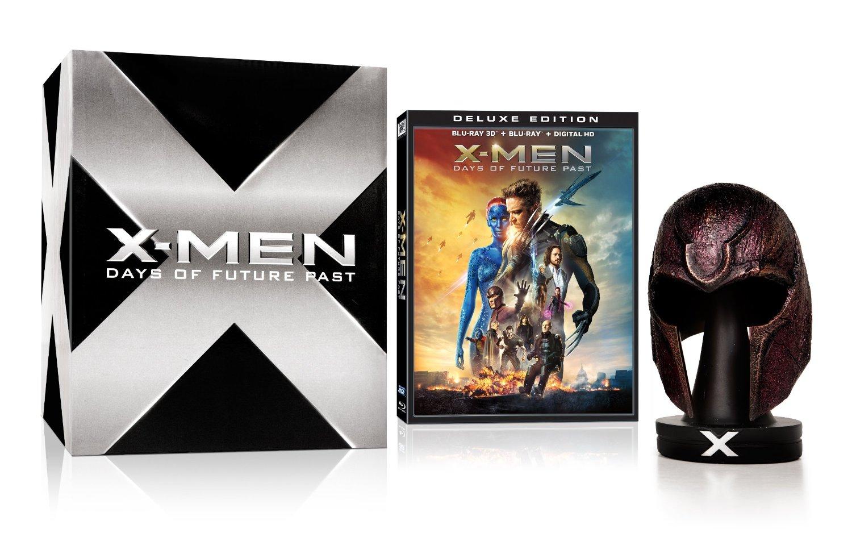 xmen days of future past bluray set with magneto helmet