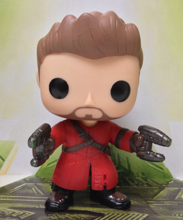 Guardians of the Galaxy Starlord Unmasked POP! Vinyls Figure Review