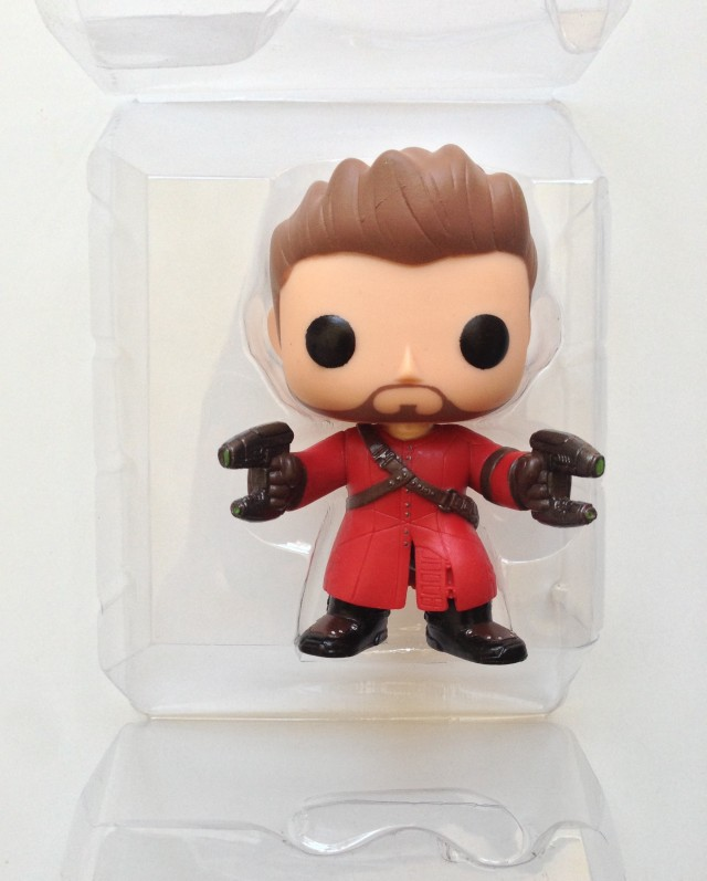 Marvel POP! Vinyls Star-Lord without Helmet Mask Figure in Packaging