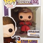 Funko POP! Vinyls Unmasked Star-Lord Review & Photos