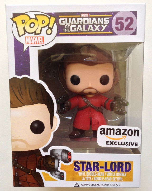 Funko Guardians of the Galaxy Unmasked Star-Lord POP! Vinyls Box