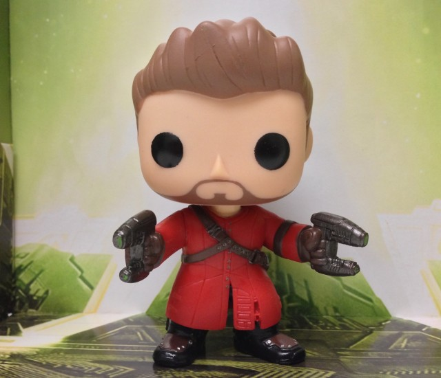 Star Lord Figure Unmasked Funko POP! Vinyls Guardians of the Galaxy