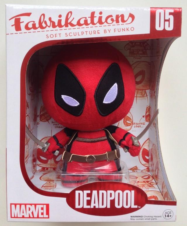 Deadpool Fabrikations Box Funko 2014