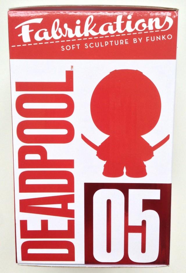 Funko Fabrikations #05 Deadpool Box Side