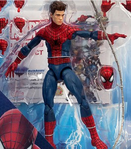 Amazing Spider-Man 2 Marvel Select Unmasked Spider-Man