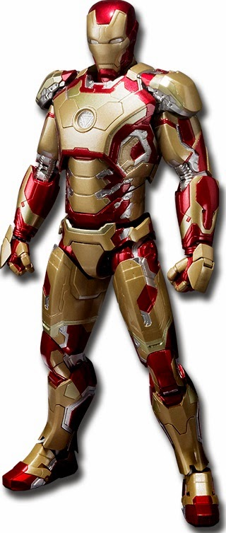 Bandai Japan SH Figuarts Iron Man 3 Iron Man Mark XLII Figure