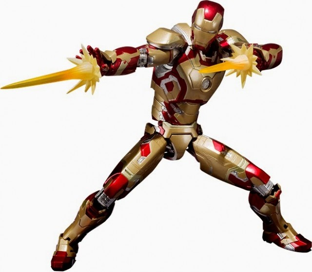 Bandai SH Figuarts Iron Man Mark XLII Figure with Effects Pieces