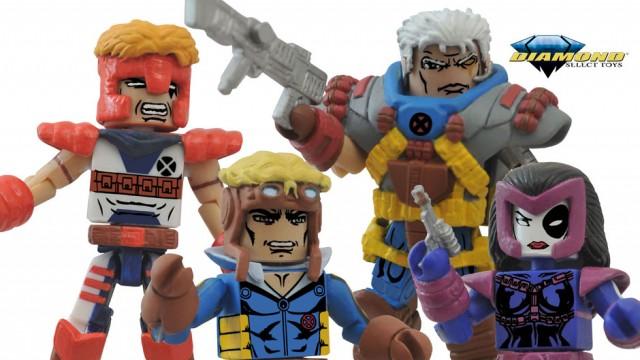Classic X-Force Marvel Minimates Figures Box Set