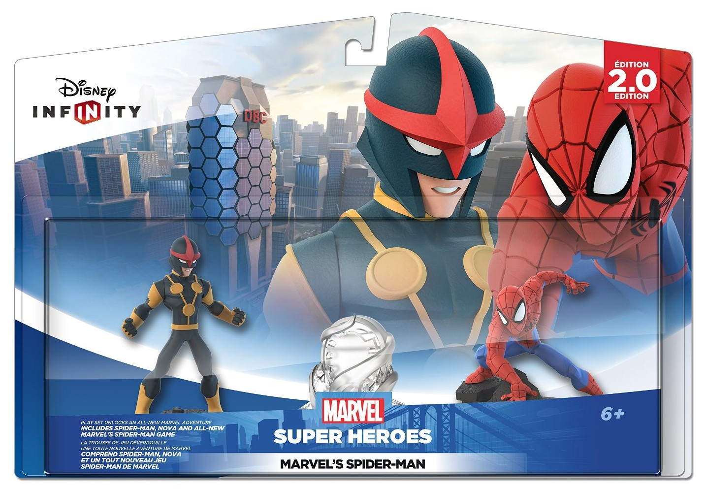 Disney Infinity 20 Play Set Spiderman Car Interior Design