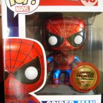 Funko Japan Premiere Metallic Spider-Man POP Vinyl Surfaces!