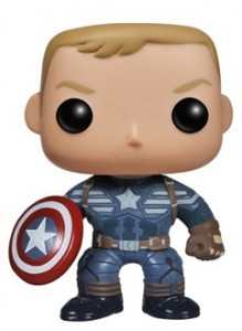 Unmasked Captain America Funko POP! Vinyls Figure