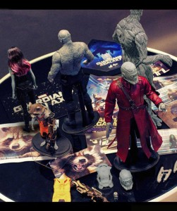 Guardians of the Galaxy Hot Toys Figure Prototypes