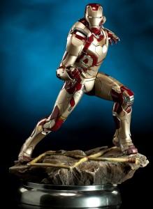 Iron Man 3 Maquette Iron Man Mark 42 Armor Quarter Scale Statue