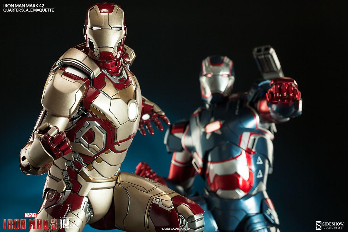 Iron Man Mark 3000 ~ Sideshow iron man mark maquette photos order info