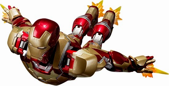 Iron Man Mark 42 S.H. Figuarts Figure Flying Bandai 2014