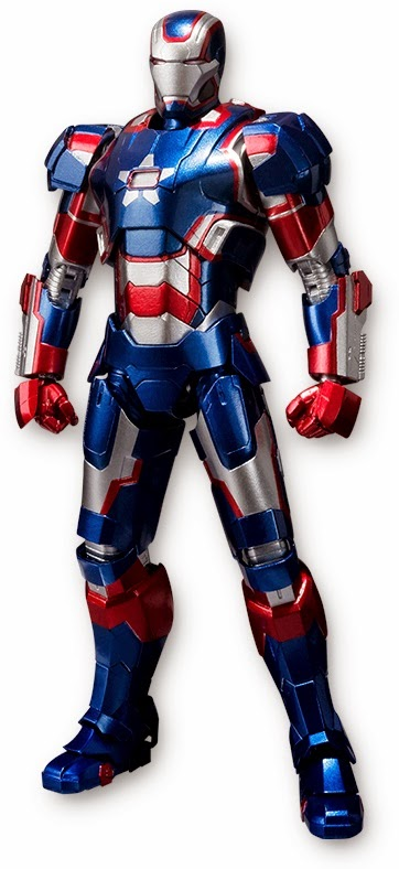 Iron Patriot SH Figuarts Figure Bandai Japan 2014