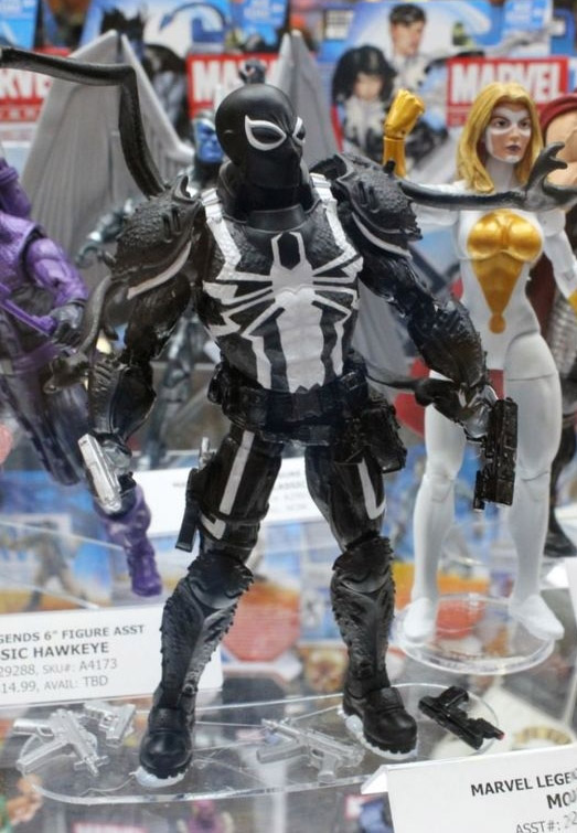 Marvel Legends Agent Venom Figure 2014 Amazing Spider-Man 2 Marvel Legends