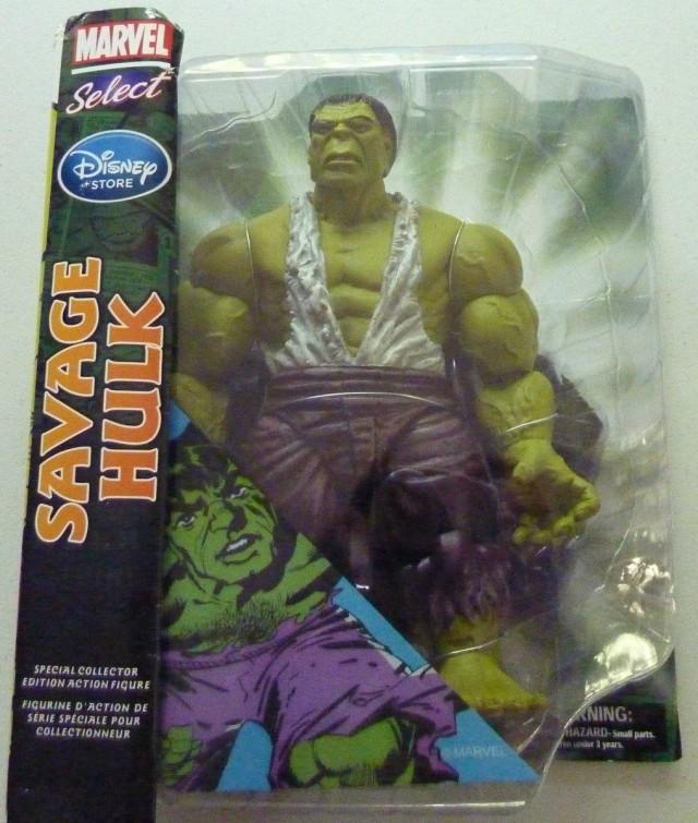 Marvel Select Savage Hulk Figure Packaged
