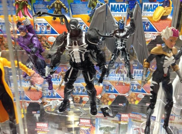 SDCC 2013 Marvel Legends Agent Venom Songbird Archangel Hawkeye