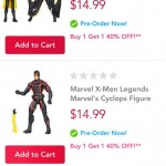 Marvel Legends X-Men Infinite Series BOGO Pre-Order!
