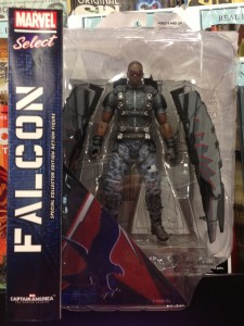 Marvel Select The Falcon Figure Packaged Captain America The Winter Soldier