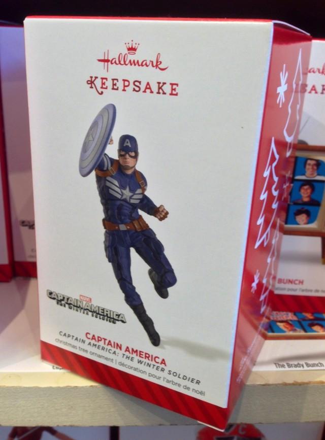 Captain America The Winter Soldier Hallmark Ornament Back