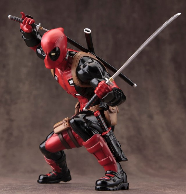 ARTFX Deadpool Kotobukiya Statue Marvel Now 2015